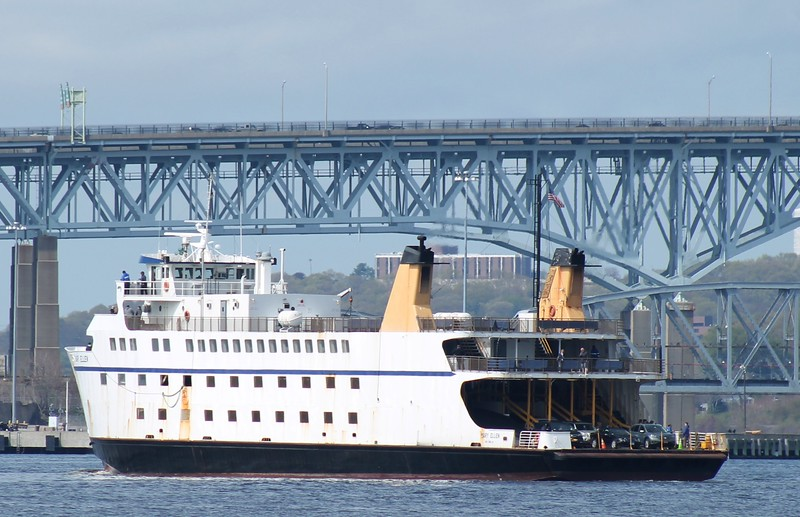 Cross Sound Ferry 'Mary Ellen'- New London, CT 5-5-2015