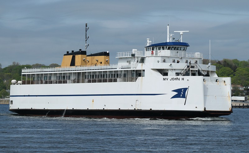 Cross Sound Ferry 'John H'- New London, CT 5-5-2015