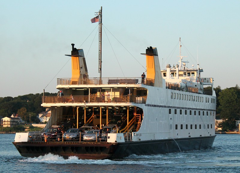 Cross Sound Ferry 'Mary Ellen'- New London, CT 8-14-2015