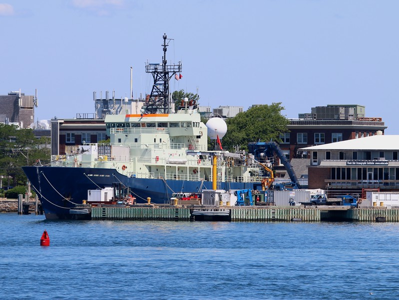 "Research Vessel 'Atlantis"" at Woods Hole Oceanographic Institute"