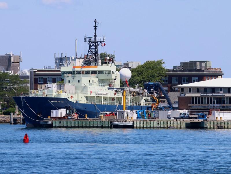 """Research Vessel 'Atlantis"""" at Woods Hole Oceanographic Institute"""