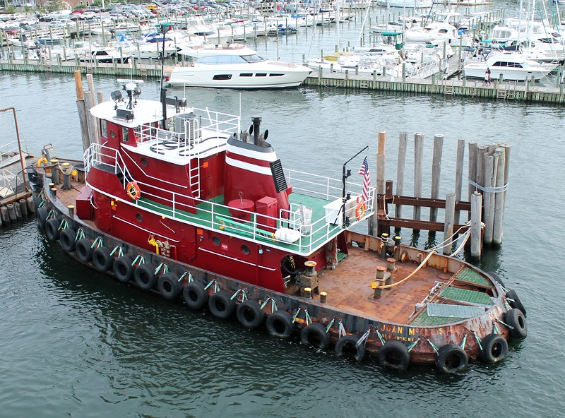 Tug 'Joan McAllister' - Port Jefferson, Long Island, NY 8-8-2015