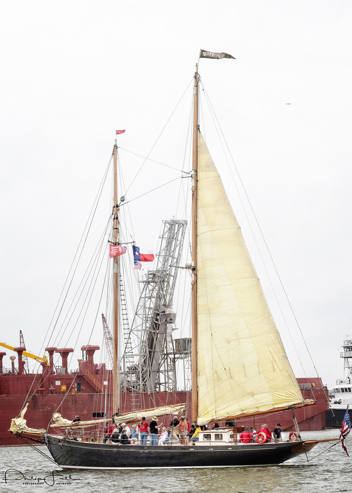 A Unknown vessel that is promoting the Tall Ships.