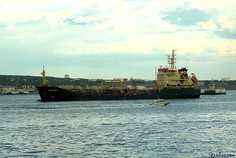 """Harbour bunkering tanker """"Algoma Dartmouth""""<br /> Halifax Harbor, NS, Canada 06/29/2017<br /> This work is licensed under a Creative Commons Attribution-<br /> NonCommercial 4.0 International License"""