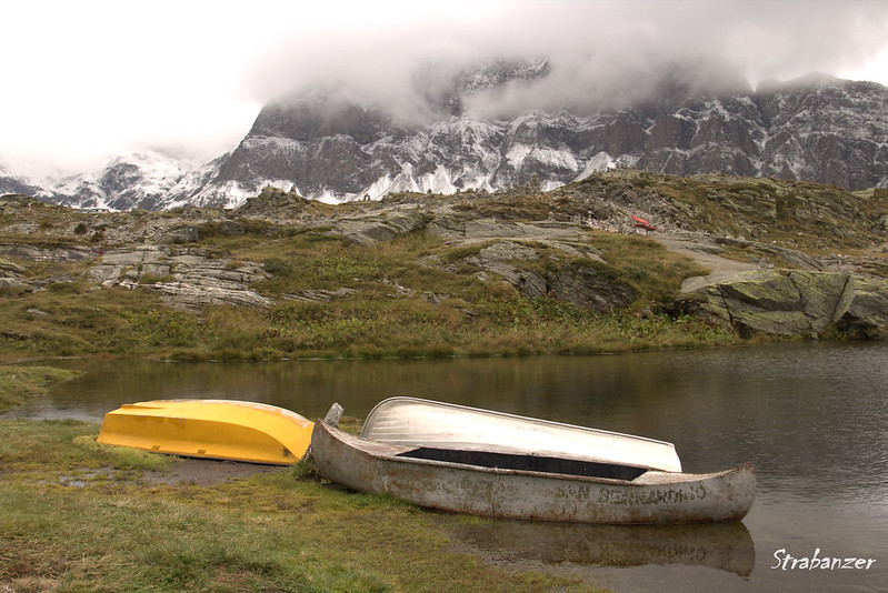 San Bernadino Pass, Switzerland,  09/03/2017<br /> Lake at the col<br /> This work is licensed under a Creative Commons Attribution-<br /> NonCommercial 4.0 International License