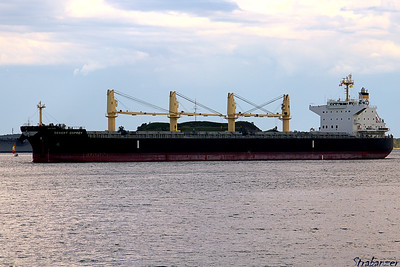"Bulk Carrier ""Desert Osprey"" Halifax Harbor, NS, Canada 06/29/2017 This work is licensed under a Creative Commons Attribution- NonCommercial 4.0 International License"