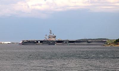 "CVN-69 ""Dwight D Eisenhower"" visiting for Canada Day Halifax Harbor, NS, Canada 06/29/2017 This work is licensed under a Creative Commons Attribution- NonCommercial 4.0 International License"
