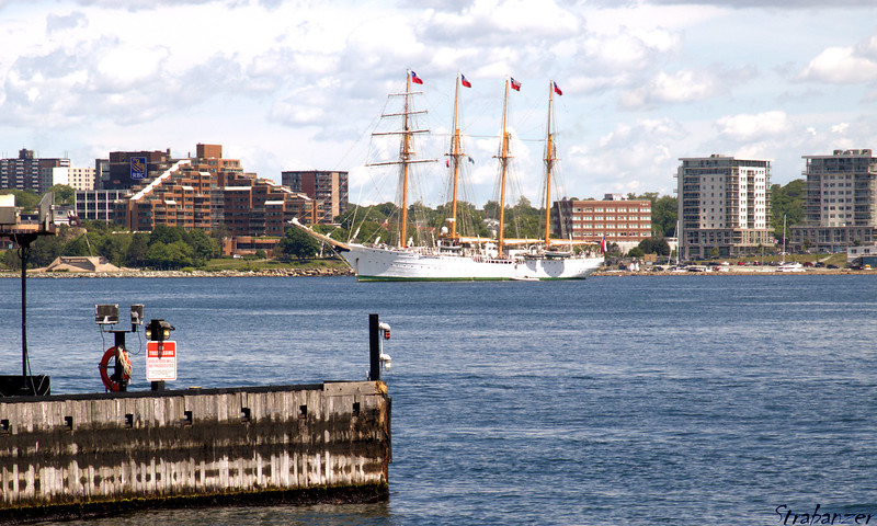 Four-masted barquentine Esmeralda of Chilean Navy<br /> Halifax, NS, Canada 06/29/2017<br /> <br /> This work is licensed under a Creative Commons Attribution-<br /> NonCommercial 4.0 International License