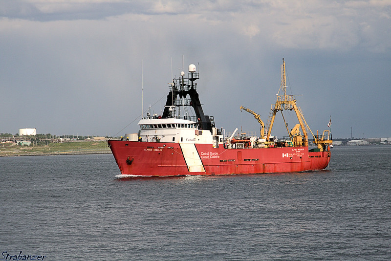 The Alfred Needler is a fishery science vessel operated by the Canadian Coast Guard<br /> Halifax, NS, Canada 06/29/2017<br /> This work is licensed under a Creative Commons Attribution-<br /> NonCommercial 4.0 International License