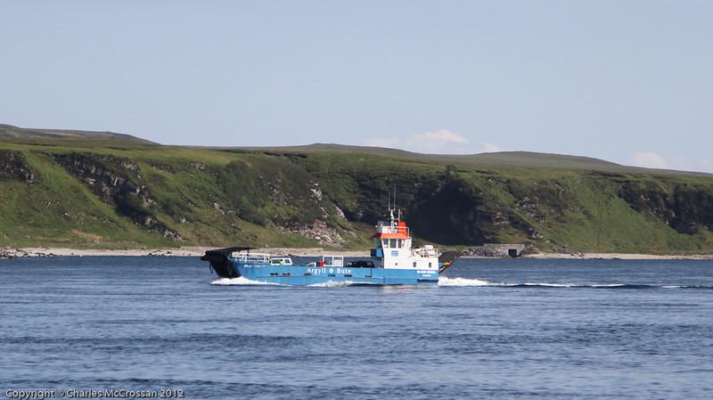 Jura ferry, Eilean Dhiura