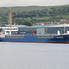 container feeder ship Tistedal