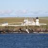 Helliar Holm (Saeva Ness) Lighthouse, Shapinsay Island, Orkney,