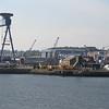 Aircraft carrier Queen Elzabeth under construction at Rosyth