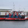 tugs Red Countess, nearest, Red Empress and Red Duchess