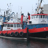 tugs Red Countess, nearest, Red Empress