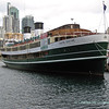 Former Manly ferry - South Steyne_ moored as a restaurant in Darling Harbour