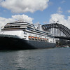 Zaandam at Sydney cruise terminal