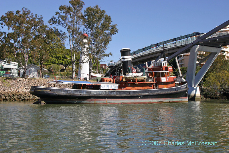 Tug Forceful at Brisbane Maritime Museum