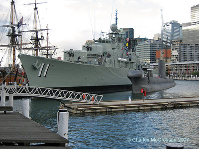 Sydney Maritime Museum and Darling Harbour