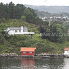 An ideal holiday cottage for ship spotting at Begen