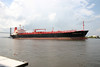 Cargo ship on Savannah River. Savannah, Ga. 2005.