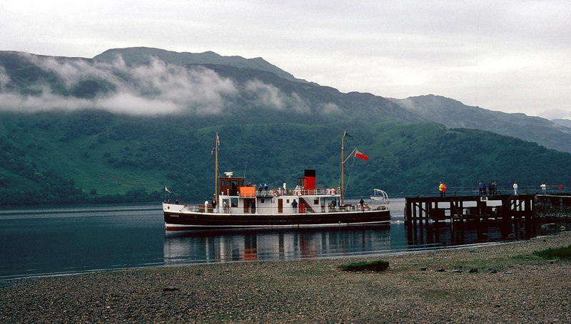 Countess Fiona departing Rowardennan for Luss and Balloch
