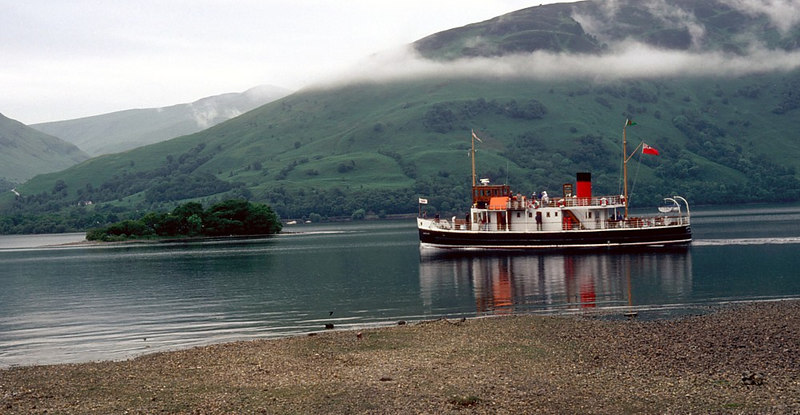 Countess Fiona on Loch Lomond in 1982
