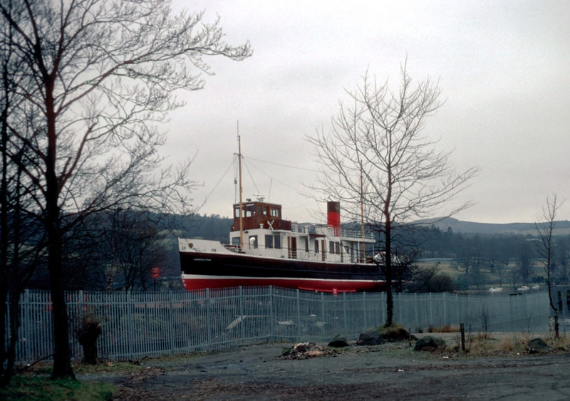 Countess of Fiona on Balloch Slip