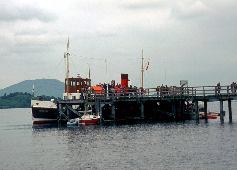Countess Fiona at Luss