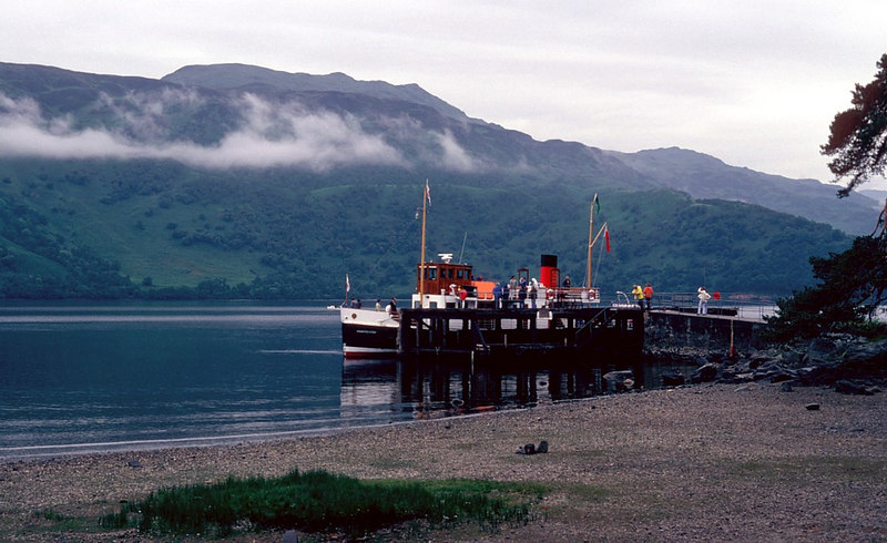Countess Fiona at Rowardennan