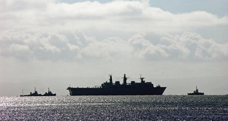 HMS Bulwark, Barrow, Mon 31 May 2004 3.