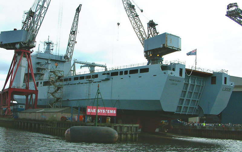 Mounts Bay launch day, 9th April 2004