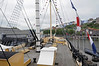 Looking forward on the weather deck, SS Great Britain, Bristol, Tues 4 September 2012 1