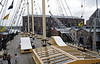 Looking aft on the weather deck, SS Great Britain, Bristol, Tues 4 September 2012 2