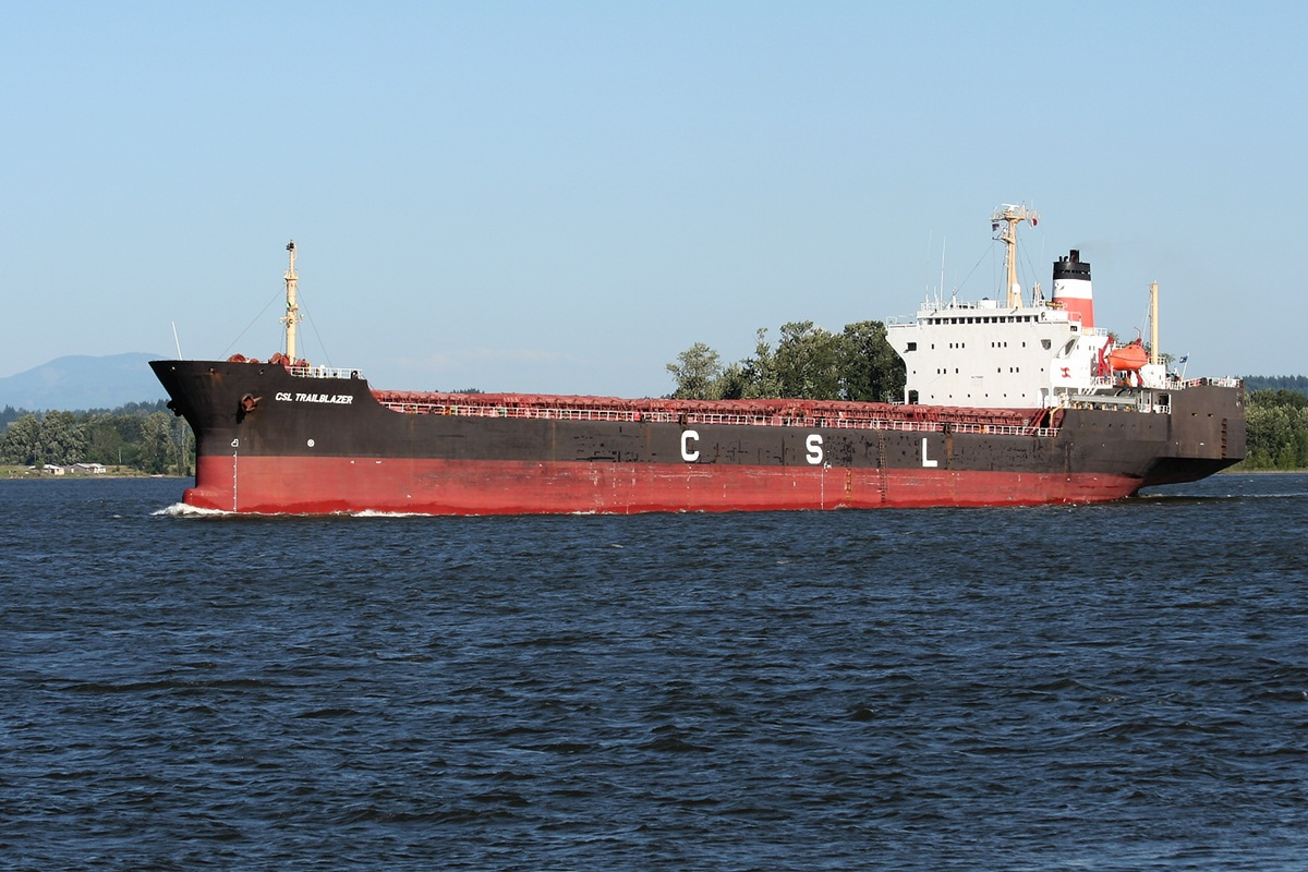 CSL TRAILBLAZER (IMO 7708857) Type of ship: Self-Discharging Bulk Carrier Year of build: 1978