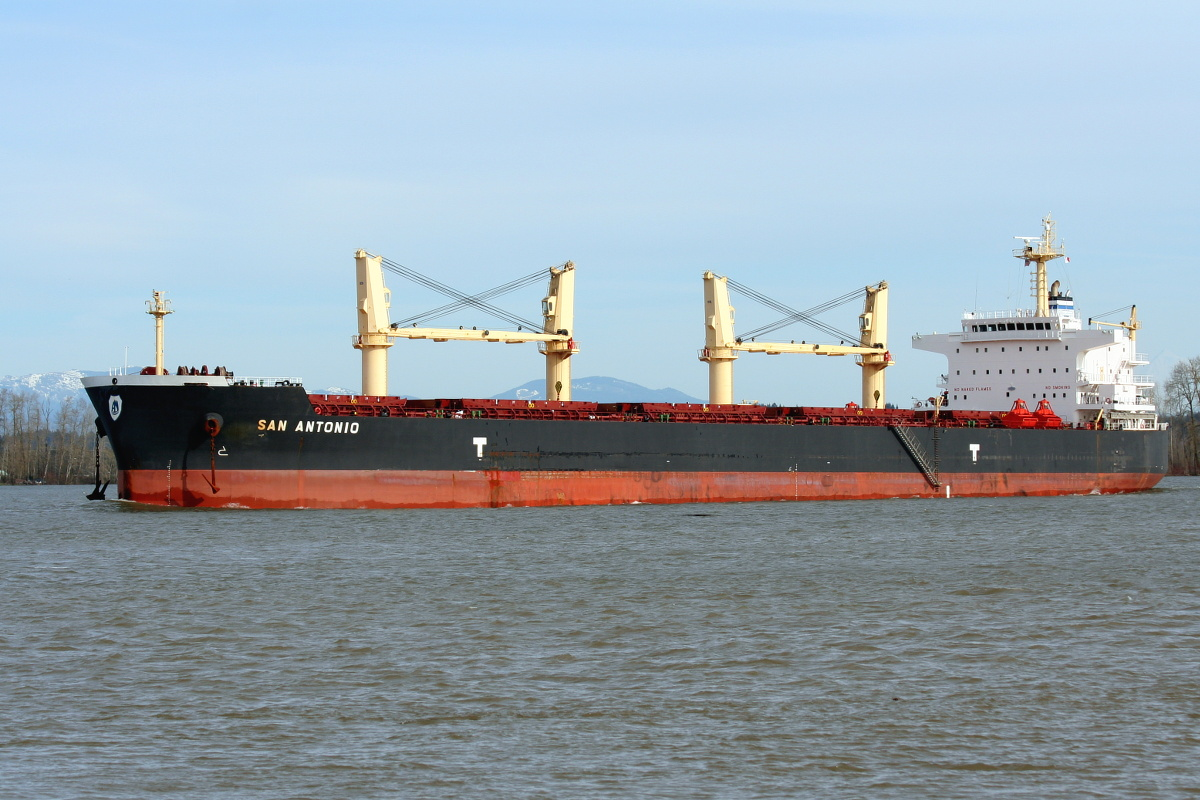 SAN ANTONIO  -  IMO 9514066, Built 2012