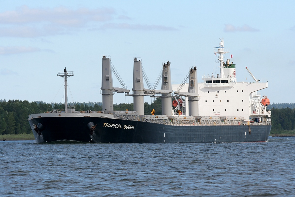 TROPICAL QUEEN (9298521) Gross tonnage : 30051 Year of build : 2005 Flag : Panama