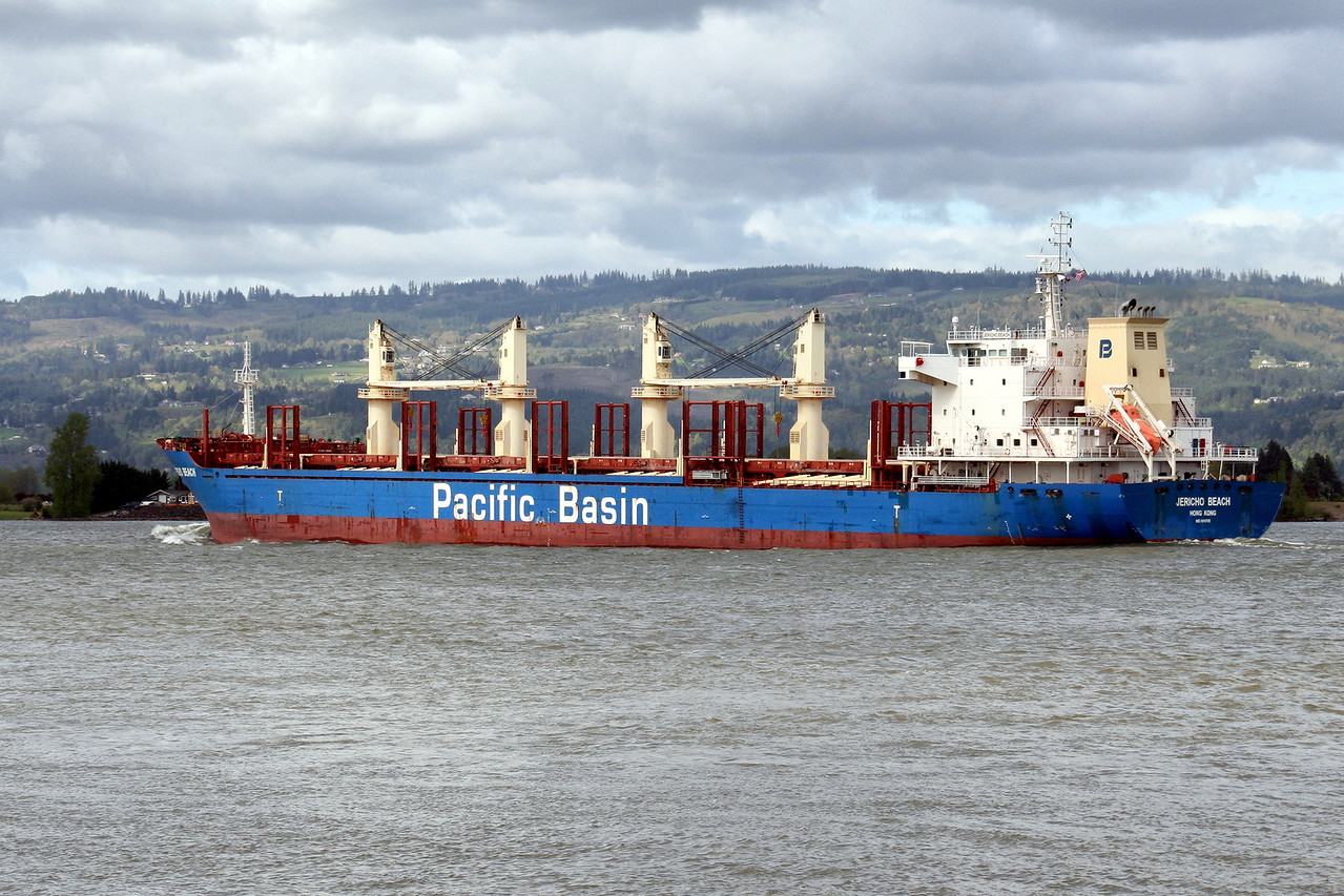 JERICHO BEACH  -  IMO n°  9610705, Built 2013