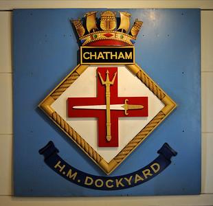 Chatham historic dockyard, 2012: Small craft and submarines