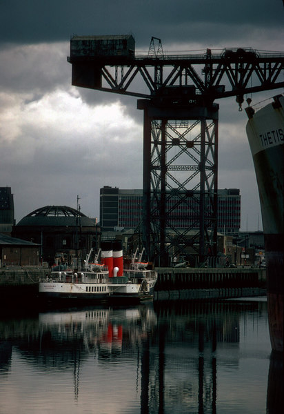 Autumn brings Waverley's migration to southern parts and by the time she returns its almost winter and time for hibernation. Stobcross Quay - late 1982