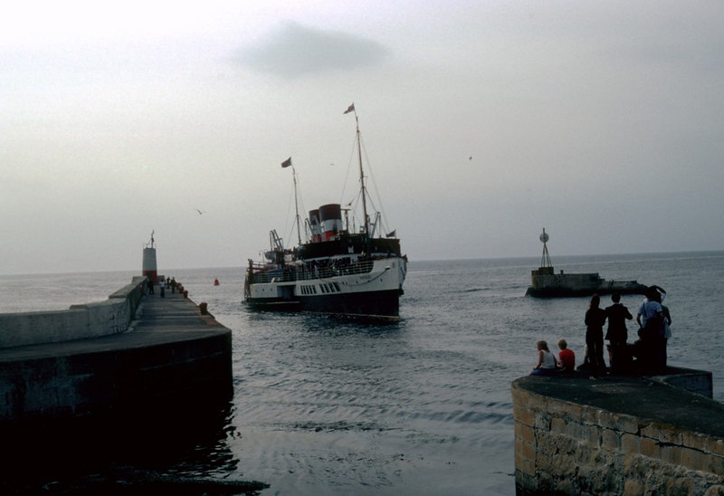 Waverley in Girvan Harbour