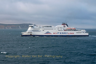 "We are overtaking the ""Berlioz"", on our way to Dover.  Vessel's Details: Ship Type: Ro-ro/passenger ship Year Built: 2005 Length x Breadth: 187 m X 28 m Gross Tonnage: 33940, DeadWeight: 7178 t Speed recorded (Max / Average): 20.4 / 17 knots Flag: France [FR]  Call Sign: FMAB IMO: 9305843, MMSI: 228085000"