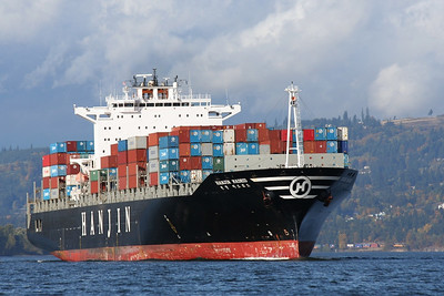 HANJIN MADRID (IMO number : 9248150)  Columbia River | Columbia City, Oregon  | Canon EF 70-300mm f/4-5.6 IS USM