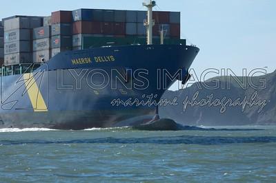 Maersk Dellys, 3/31/07