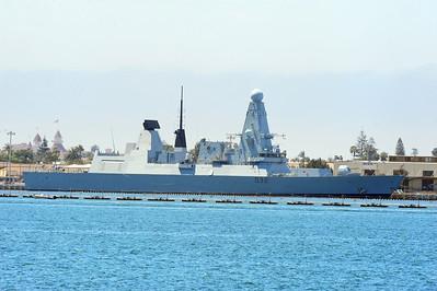 HMS Daring (D32)- San Diego Bay