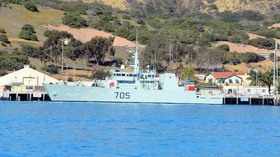 HMCS Whitehorse (MM705)