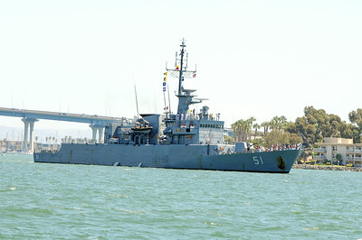 ARC Almirante Padilla (FM 51) a Frigate made in Germany