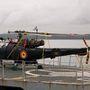 BNS Godetia<br /> 13th September 2013<br /> River Forth<br /> Alouette III Helicopter