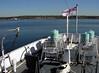HMCS Sackville, Halifax, Nova Scotia, 3 October 2005 13.  Depth charge rails and smoke floats.