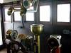 HMCS Sackville, Halifax, Nova Scotia, 3 October 2005 14.  Here are two views of the wheelhouse.